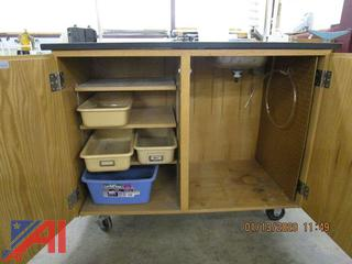 Science Cabinet, Rack, Cheese Dispenser and More