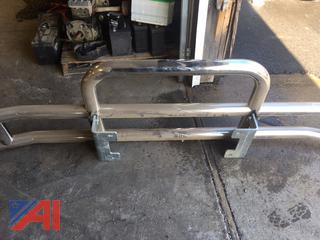 Luverne Fold Down Stainless Steel Bumper Guards Front Protection -New/Old Stock