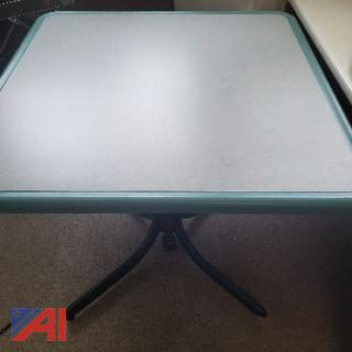 Square Adjustable Table