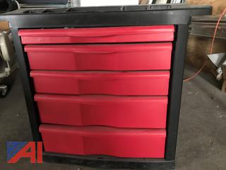 5-Drawer Rubbermaid Base Cabinet