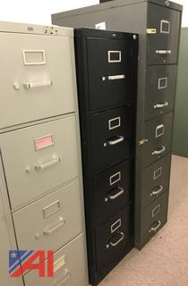 Various Metal File Cabinets