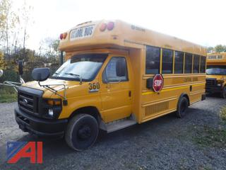 2010 Ford/Collins E450 Mini Bus with Wheelchair Lift