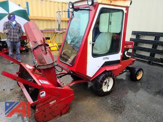 (#9) Toro Ground Master 345 with Cozy Cab, Deck and 150 Snow Blower
