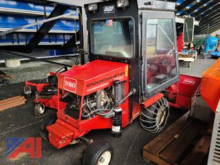 (#5) Toro Ground Master 345 with Deck and 150 Snow Blower