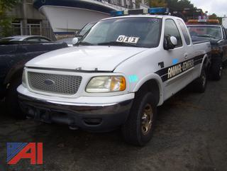 2001 Ford F150 Extended Cab Pickup Truck (Parts Only)