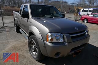 (#8) 2003 Nissan Frontier Extended Pickup Truck