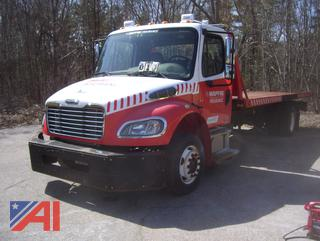 2011 Freightliner M2 106 Flatbed Truck E#311003