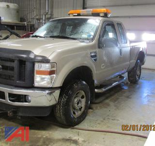 2008 Ford F250 Super Duty Extended Cab Pickup Truck