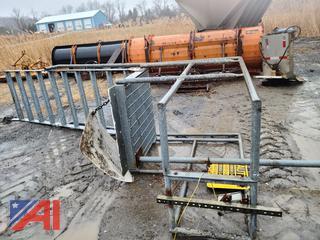 10' Galvanized Steel Stairs and Platform