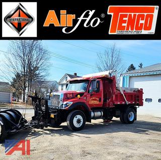 2015 International 7300 Dump Truck with Plow & Wing