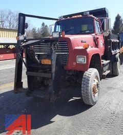 1995 Ford L9000 Dump Truck with Plow & Wing