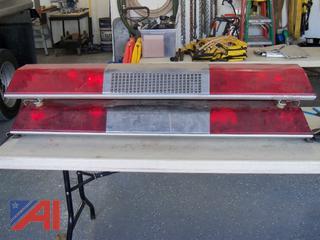 Full Size Emergency Red Light Bars