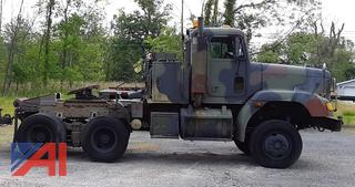 1997 Freightliner FLD120  M916A2 10 Wheel Drive Tractor with Winch