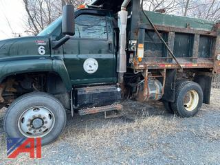 (#6) 2003 GMC C8C042 Dump Truck with Plow and Wing