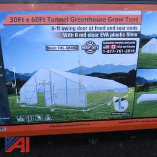 30' x 60' Tunnel Greenhouse Grow Tent