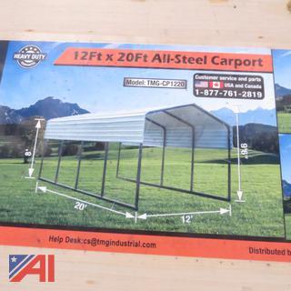 12' x 20' Steel Carport