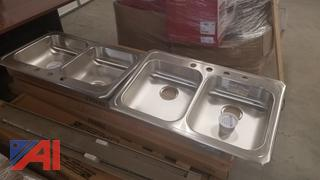 Stainless Steel Kitchen Sinks, New/Old Stock