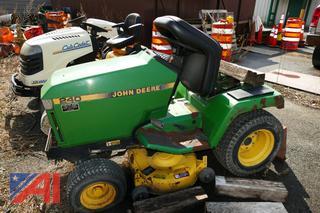 (#2) John Deere 240 Riding Lawn Tractor Mower