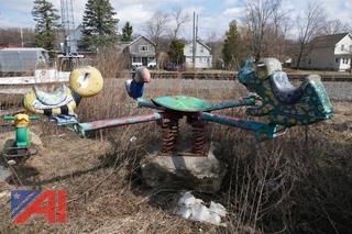 (#5) Vintage Playground Teeter Totter
