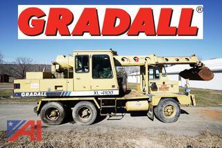 1993 Gradall XL4100 Wheel Excavator