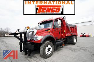 2006 International 7600 Dump Truck with Plow