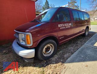 2001 Chevy Express 1500 Van