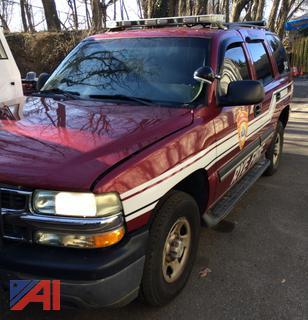 (#2) 2006 Chevy Tahoe SUV/Emergency Vehicle