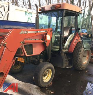 (#4) 1998 Case CX90 Loader Tractor