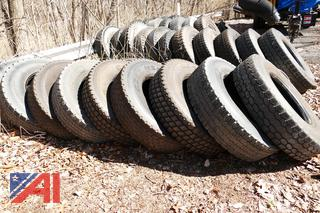 (#14) Various Size Tires and Rims