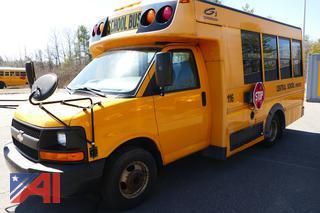 (#116) 2009 Chevy Express 3500 LS Mini School Bus
