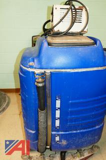 "(#8) Saber Glide 28"" Ride-on Floor Cleaning Machine"