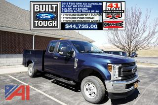 REDUCED BP 2018 Ford F350 Utility Truck
