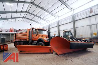 2004 International 7600 Dump Truck with Plow