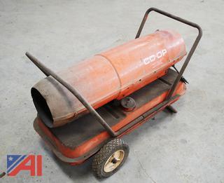 Co-Op Portable Diesel/Kerosene Heater