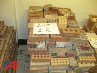 Pallet of Mixed Blocks and Bricks