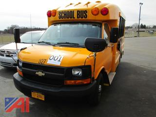 2015 Chevy/Transtech Express G3500 Mini School Bus