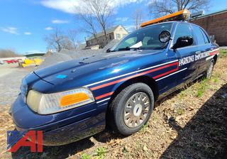 2003 Ford Crown Victoria 4DSD/Police Interceptor