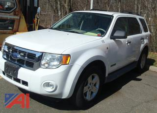 (#4) 2008 Ford Escape Hybrid SUV
