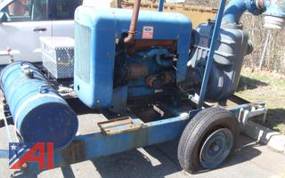 "(#8) Ford 6"" Pump on Trailer"