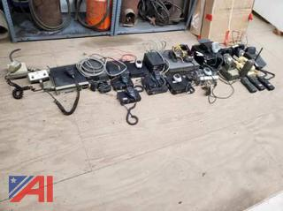 Old Used Telephones and Radios
