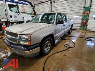 2003 Chevy Silverado 1500 Extended Cab Pickup Truck