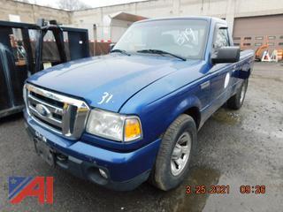 (#319) 2008 Ford Ranger Pickup Truck