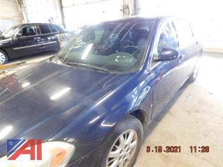 (#5009) 2008 Chevy Impala 4 Door/Police Interceptor
