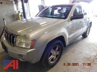 (#5545) 2007 Jeep Grand Cherokee Limited SUV