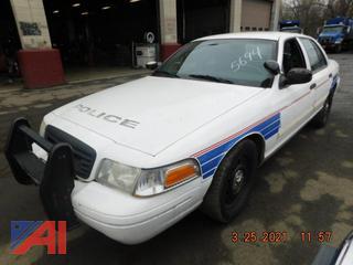 (#5694) 2009 Ford Crown Victoria 4DSD/Police Interceptor
