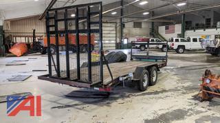 2011 Hudson 5 Ton Equipment Trailer with Ramp