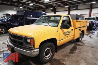 1995 Chevy Cheyenne 2500 Utility Truck
