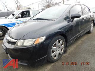 (#5291) 2009 Honda Civic LX 4 Door Sedan