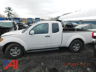 **UPDATED** (#5703) 2008 Nissan Frontier SE Extended Cab Pickup Truck