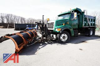 2001 Sterling L9500 Dump Truck with Plow